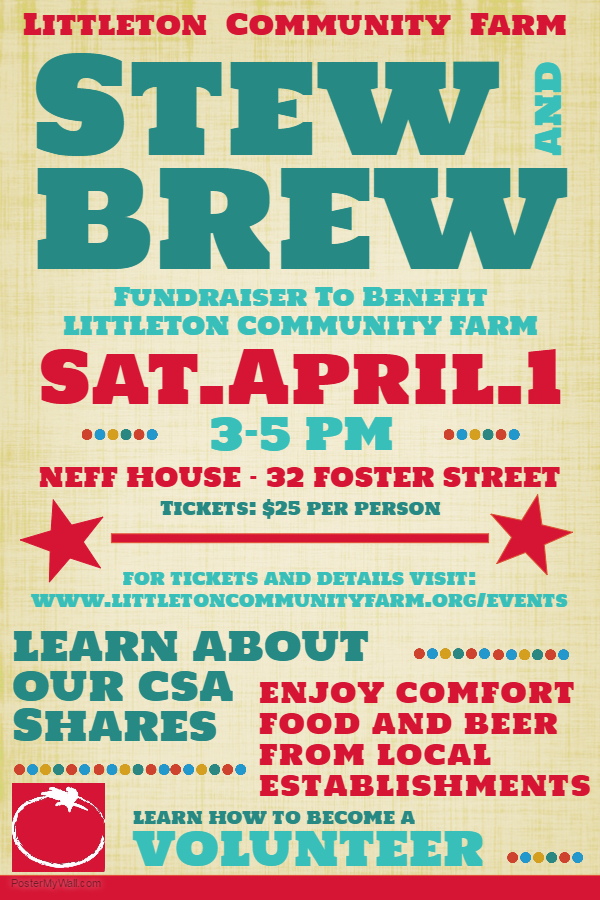 Littleton Community Farm Stew and Brew