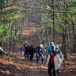 11/25/2017 group hike at Sarah Doublet Forest