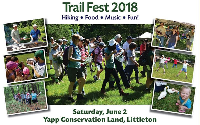 Sudbury Valley Trustees' Trail Fest 2018