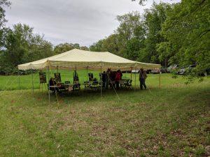 LHS' exhibit tent